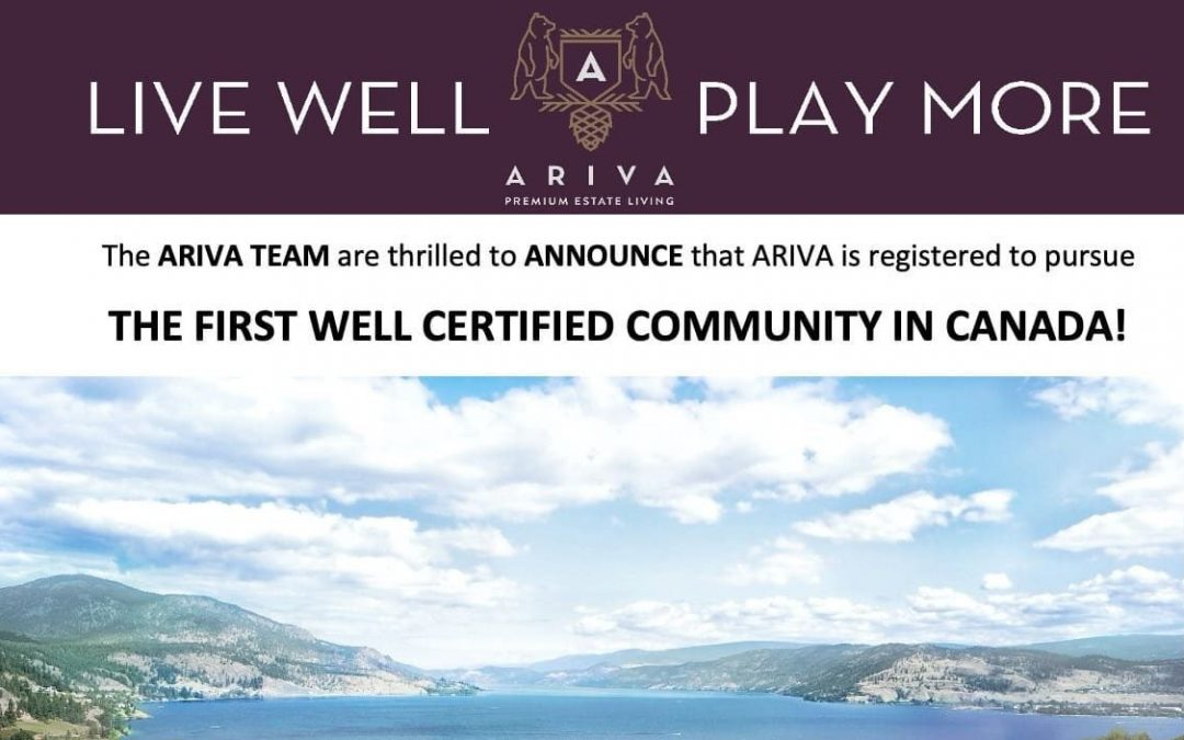 Ariva WELL Building Institute Certification